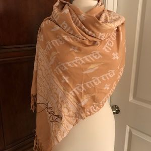 Sir Alistair Rai wrap/scarf